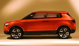 2015 Ssangyong X100 Compact Crossover Concept 2