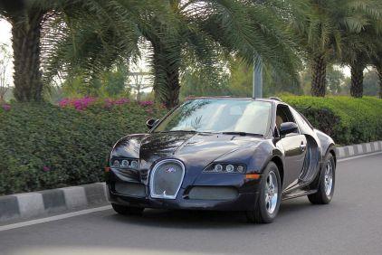 Bugatti Veyron Replica from Maruti Esteem 5