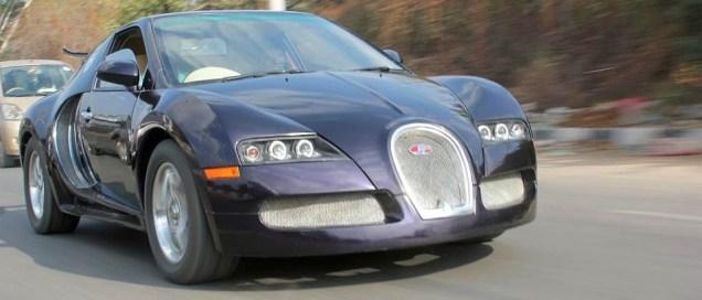 Bugatti Veyron Replica from Maruti Esteem 9