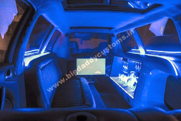 Skoda Octy Royale Limousine Interiors Image