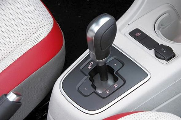 Volkswagen ASG Semi-Automatic Gearshifter seen on the Up! hatchback Pic