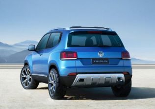 Volkswagen Taigun Compact SUV Concept 3