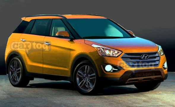 2015 Hyundai Compact SUV Render Photo