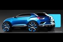 Volkswagen T-ROC SUV Concept 4