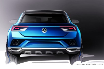 Volkswagen T-ROC SUV Concept 6