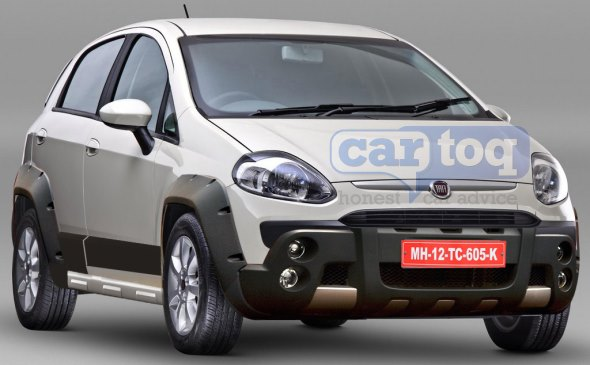 CarToq's speculative render of the Fiat Punto Cross Image