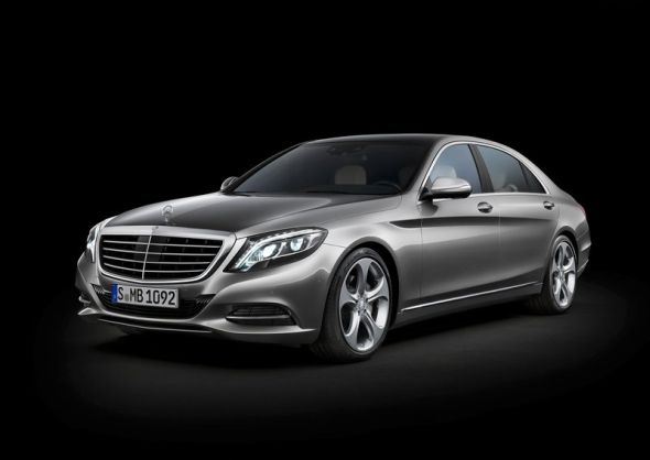 2014 W222 Mercedes Benz S-Class Luxury Saloon Pic