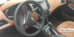 2015 Chevrolet Cruze Sedan Spyshot 2