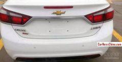 2015 Chevrolet Cruze Sedan Spyshot 3