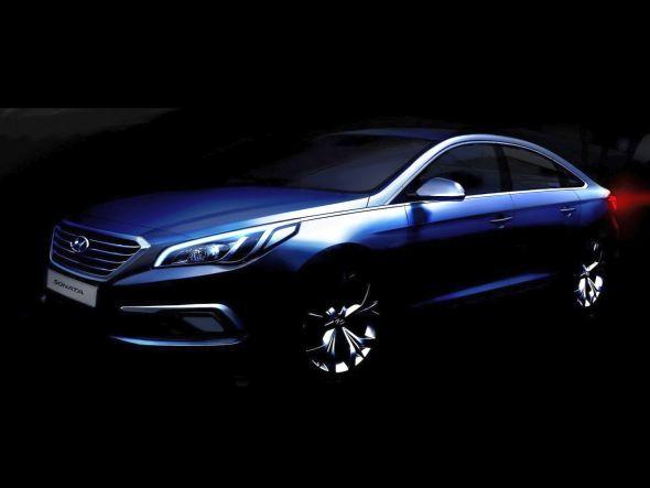 2015 Hyundai Sonata Teaser Pic