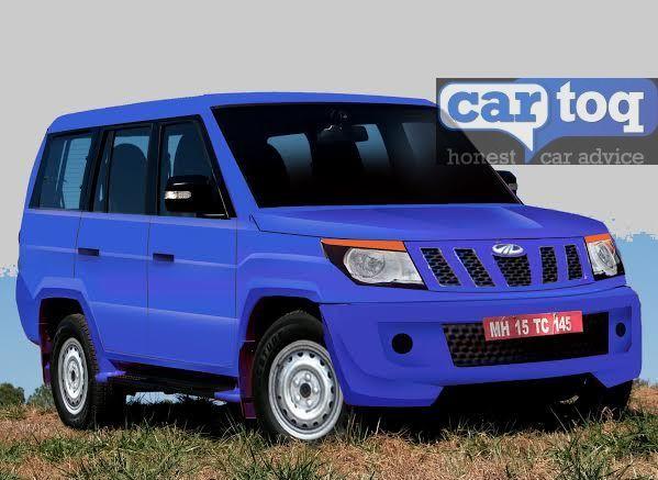 2015 U301 Mahindra Bolero MUV Render 3