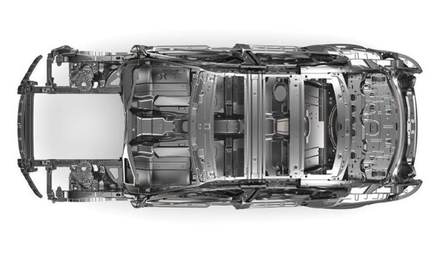 Jaguar XE Aluminum Frame