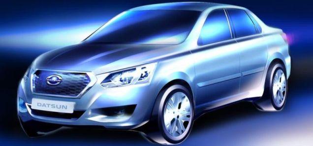 Lada Granta based Datsun Sedan Featured