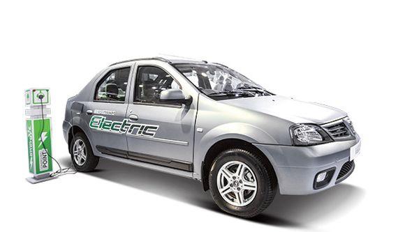 Mahindra Verito Electric Sedan Pic