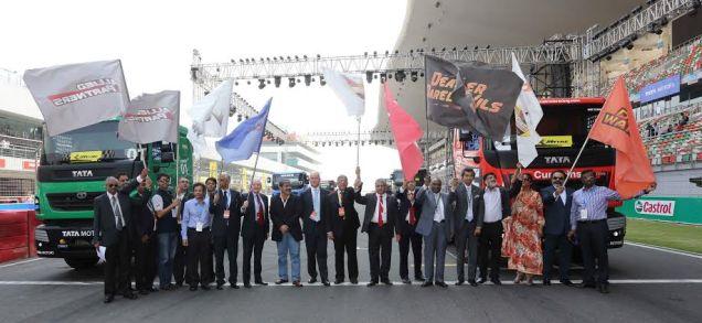 Tata T1 Prima Truck Racing Championship Flag Off