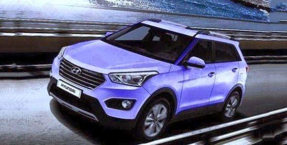 Hyundai iX25 Compact SUV Image