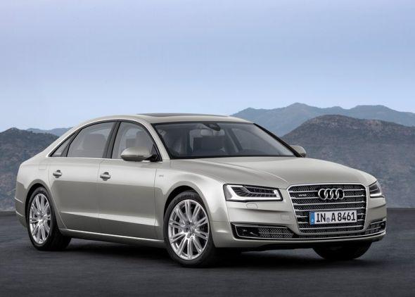 2014 Audi A8L Luxury Saloon 1