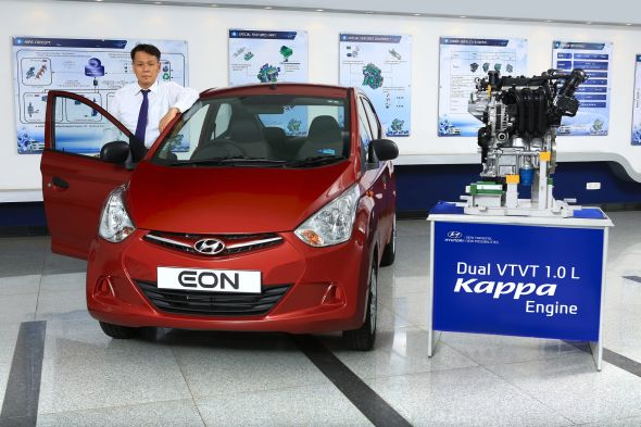 Hyundai Eon with 1 liter Kappa petrol engine pic