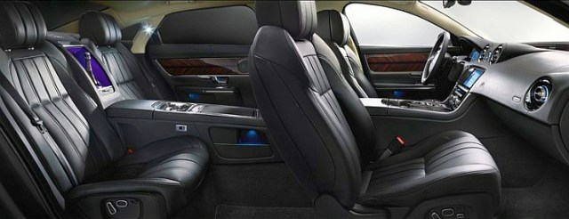 2014 Jaguar XJ Luxury Saloon Interiors Image