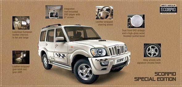 Mahindra Scorpio Special Edition SUV Image