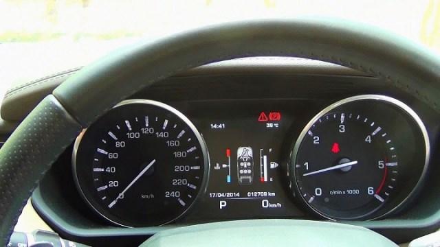 Range Rover Sport instrument panel
