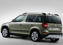 Skoda Yeti Facelift SUV 4