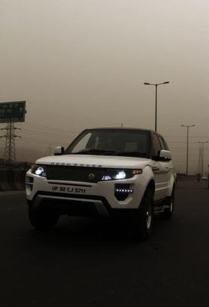 Tata Safari to Range Rover Evoque 1