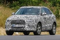 2015 Audi Q3 Crossover Facelift Spyshot 1