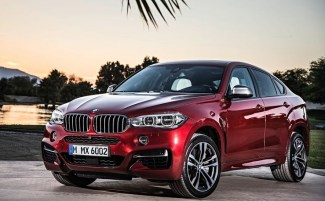 BMW X6 front three quarters