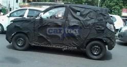 Mahindra S101 Compact SUV Spyshot 1
