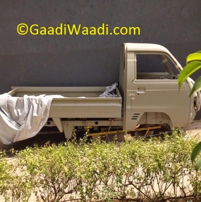 Maruti Suzuki Y9T Pick Up Truck's Body Shell Pic