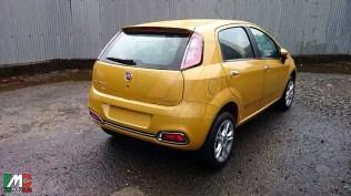 2014 Fiat Grande Punto Facelift Hatchback 4