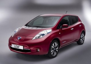 2014 Nissan Leaf Electric Car 7