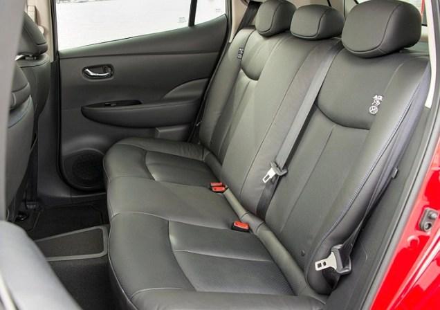 2014 Nissan Leaf Electric Car 8