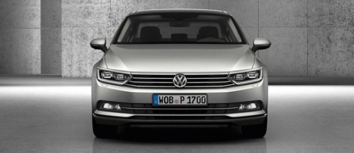 2015 Volkswagen Passat B8 Luxury Sedan 6