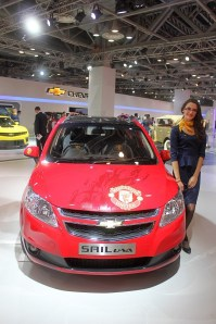 Chevrolet Sail Manchester United Edition 2