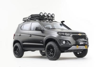 2016 Chevrolet Niva Compact SUV Concept 1