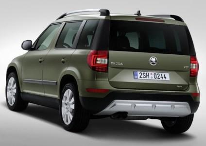 2014 Skoda Yeti SUV Facelift 7