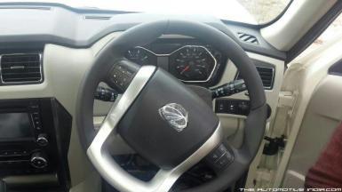 Mahindra Scorpio SUV Facelift Interiors 1