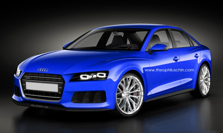 The 5th Generation Model Of The Audi A4 Sedan, Which Is The German  Automakeru0027s Best Selling Sedan Ever, Will Be Launched In India Next Year.