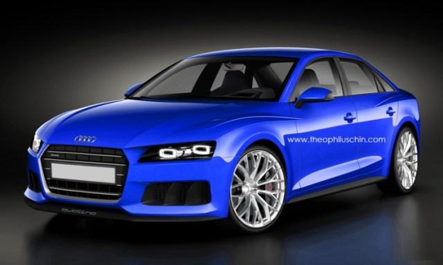 2015 Audi A4 Sedan Speculative Render Image