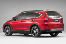 2015 Euro-Spec Honda CR-V Crossover Facelift 3