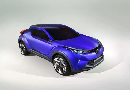 Toyota CH-R Crossover Concept 1