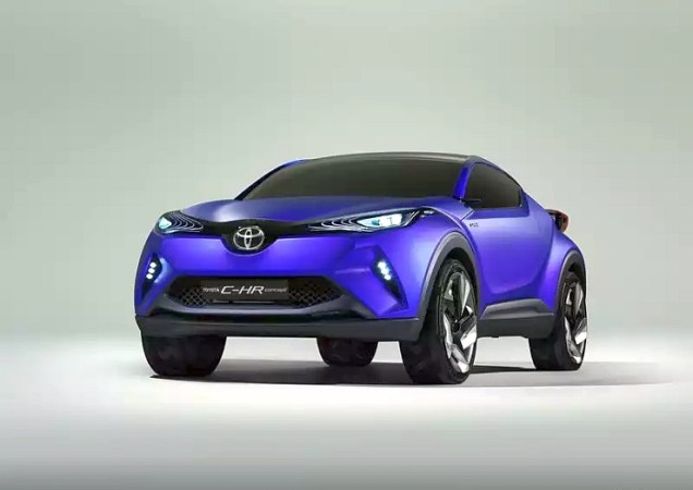 Toyota CH-R Crossover Concept 9
