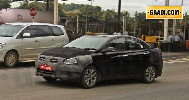 2015 Hyundai Verna Sedan Facelift Photo