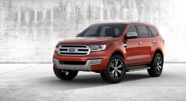2015 Ford Endeavour SUV 16