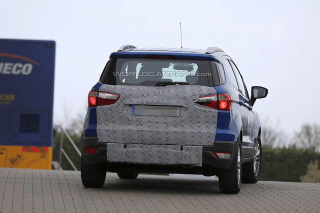 Ford EcoSport Facelift testing at Europe Pic
