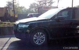 2016 Audi Q7 Spyshot 1