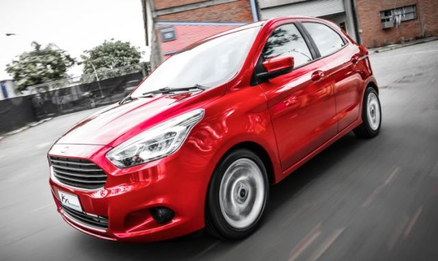 2015 Ford Figo Hatchback Front