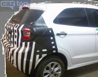 2015 Ford Figo Hatchback Spyshot Rear